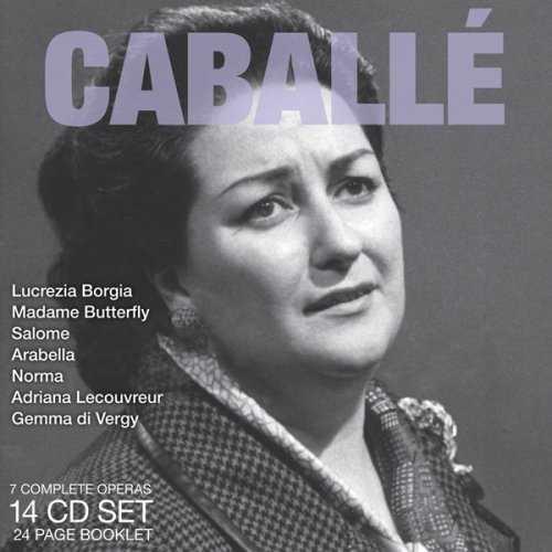 Legendary Performances of Caballé (14 CD box set, APE)