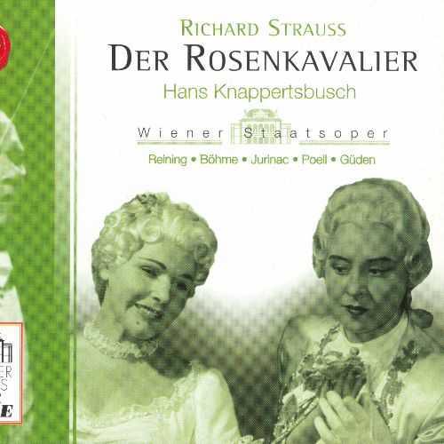 Knappertsbusch: Strauss - Der Rosenkavalier (3 CD, APE)