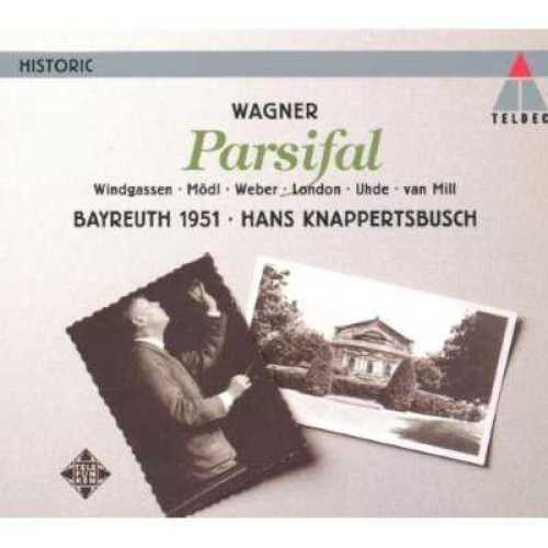 Knappertsbusch: Wagner - Parsifal, Bayreuth 1951 (4 CD, FLAC)