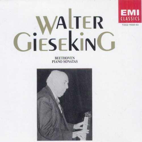 Gieseking: Beethoven Piano Sonatas (6 CD box set, FLAC)