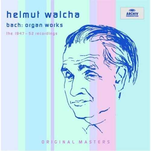 Walcha: Bach - Organ Works, The 1947 - 1952 Recordings (10 CD box set, APE)