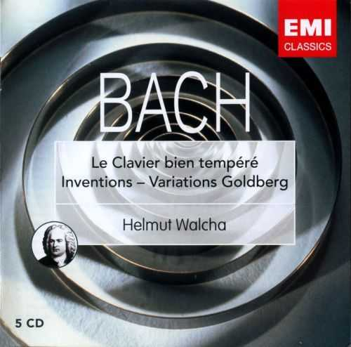 Walcha: Bach - The Well Tempered Clavier, Inventions, Goldberg Variations (5 CD box set, APE)