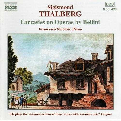 Nicolosi: Thalberg - Fantasias on Operas By Bellini (APE)