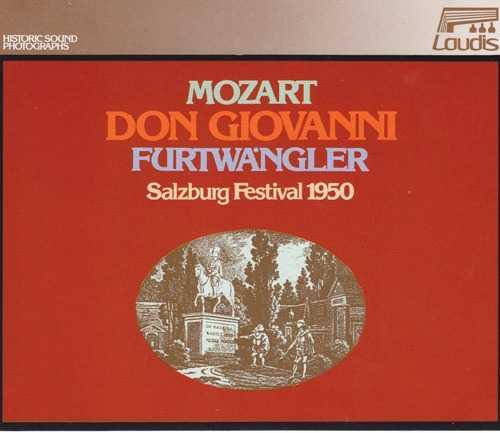Furtwangler: Mozart - Don Giovanni, Salzburg Festival 1950 (3 CD box set, APE)