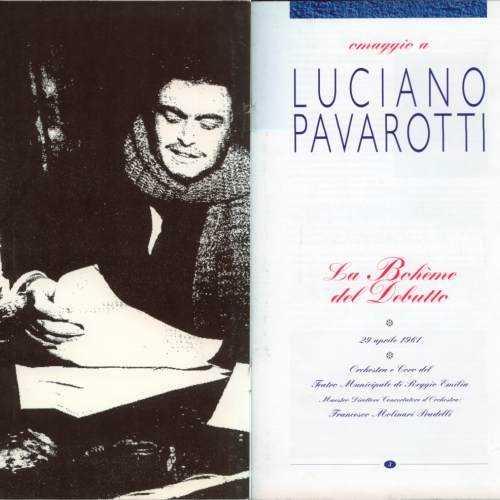 Molinari Pradelli, Pavarotti: Puccini La Boheme del Debutte (2 CD, APE)