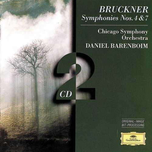 Barenboim: Bruckner - Symphonies no.4, 7 (2 CD, FLAC)