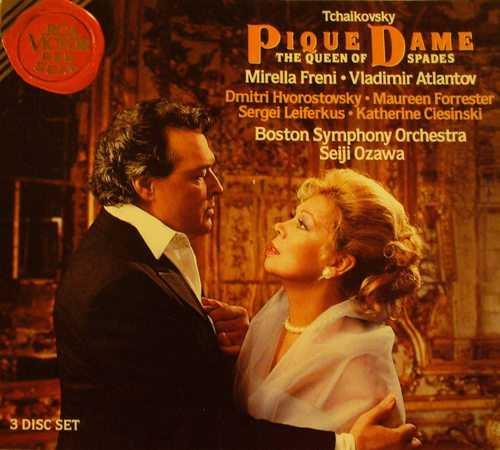 Ozawa: Tchaikovsky - Pique Dame, 1992 (3 CD, FLAC)
