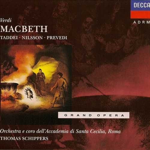 Schippers: Verdi - Macbeth, 1964 (2 CD, FLAC)