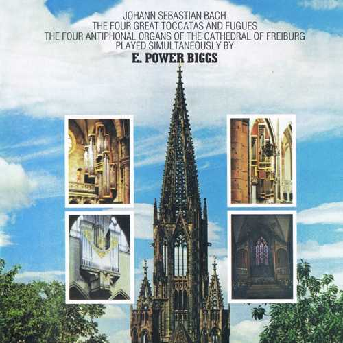 Biggs: Bach - The Four Great Toccatas and Fugues (SACD, ISO)
