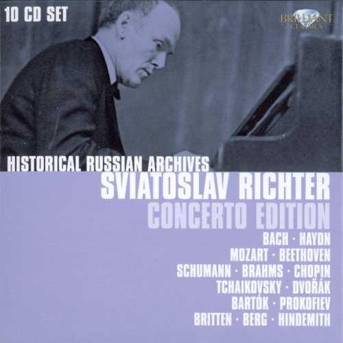 Richter - Concerto Edition (10 CD box set, FLAC)