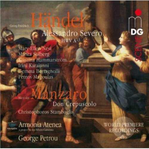 Petrou: Handel - Alessandro Severo, Manzaro - Don Crepuscolo (3 CD, FLAC)