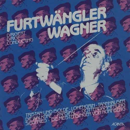 Furtwangler Conducting Wagner (5 LP, 24bit/96kHz, WAV)