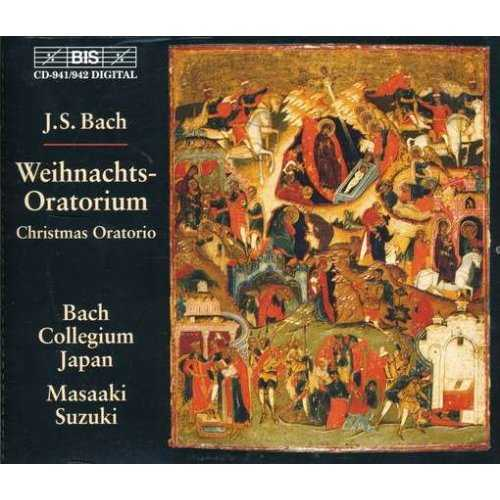 Suzuki: Bach - Weihnachts-Oratorium / Christmas Oratorio, BWV248 (2 CD, APE)
