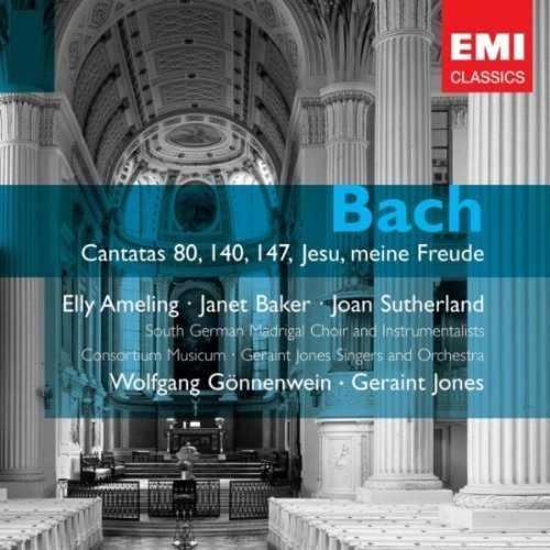Gonnenwein: Bach - Cantatas BWV 80,140,147, Jesu, meine Freude (2 CD, FLAC)