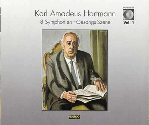 Hartmann - Symphonien 1-8, Gezangs-Szene (4 CD, APE)
