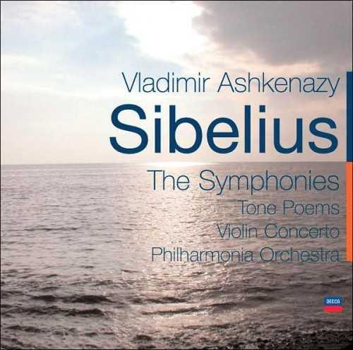 Ashkenazy: Sibelius - The Symphonies, Tone Poems, Violin Concerto (5 CD, FLAC)