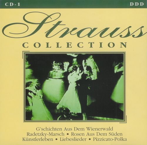 Strauss Collection (4 CD, FLAC)