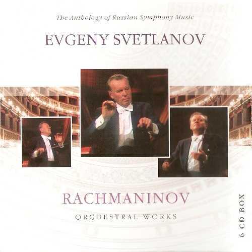 Svetlanov: Rachmaninov - Orchestral Works (6 CD box set, FLAC)