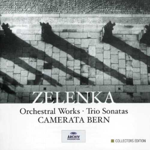 Camerata Bern: Zelenka - Orchestral Works, Trio Sonatas (5 CD box set, APE)