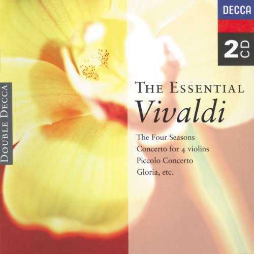 Marriner, Willcocks, Malcolm, Munchinger, Baumgartner, Rampal: The Essential Vivaldi (2 CD, APE)