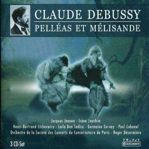 Desormiere: Debussy - Pelleas et Melisande (3 CD box set, APE)