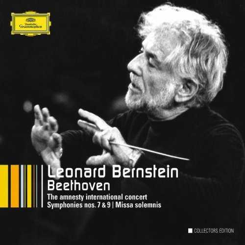 Bernstein: Beethoven - The Amnesty International Concert, Symphonies no.7, 9, Missa solemnis (6 CD box set, FLAC)