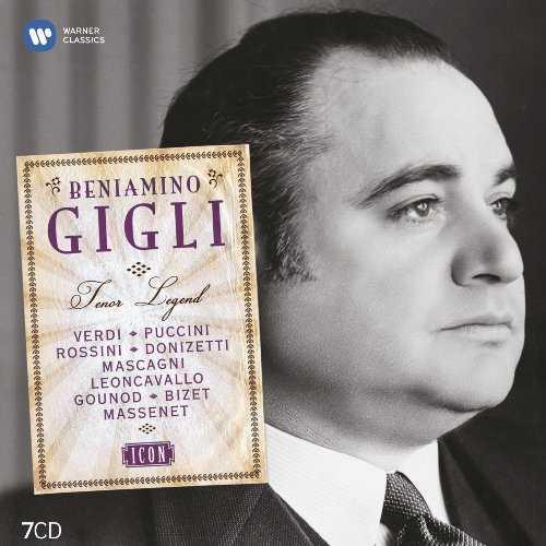 Beniamino Gigli - Tenor Legend (7 CD box set, FLAC)