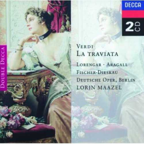 Maazel: Verdi - La Traviata (2 CD, FLAC)