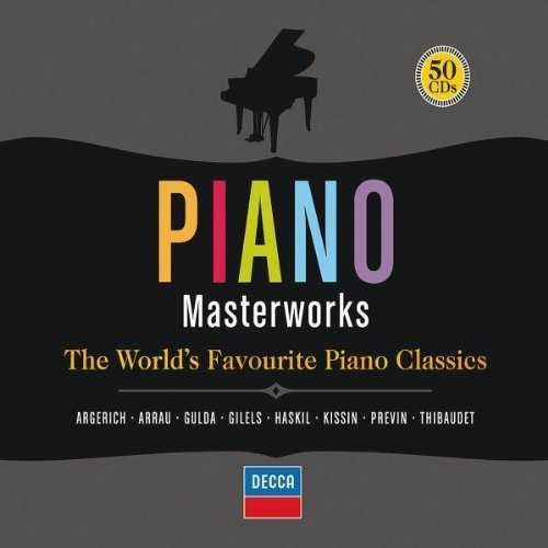 Piano Masterworks: The World's Favourite Piano Classics (50 CD box set, APE)
