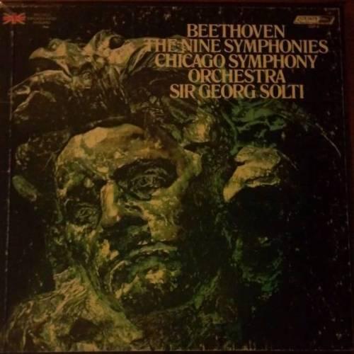 Solti: Beethoven - 9 Symphonies (9 LP box set, FLAC)