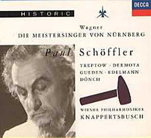 Knappertsbusch: Wagner - Meistersinger von Nurnberg (4 CD, APE)