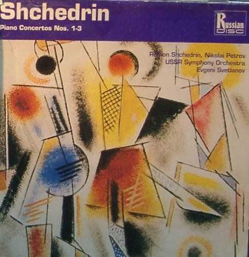 Svetlanov: Shchedrin - Piano Concertos no.1-3 (FLAC)