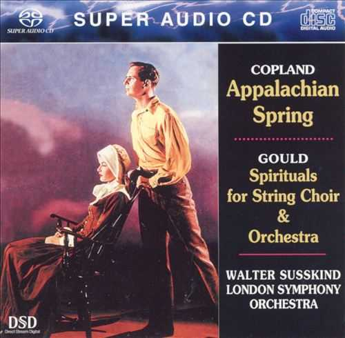 Susskind: Copland - Appalachian Spring; Gould - Spirituals for Orchestra (SACD ISO)