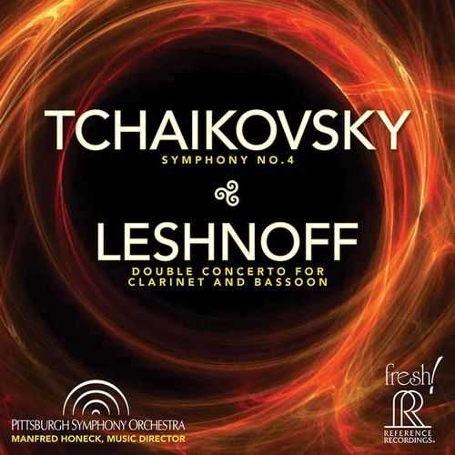 Tchaikovsky - Symphony no.4; Leshnoff - Double Concerto for Clarinet and Bassoon (24/192 FLAC)