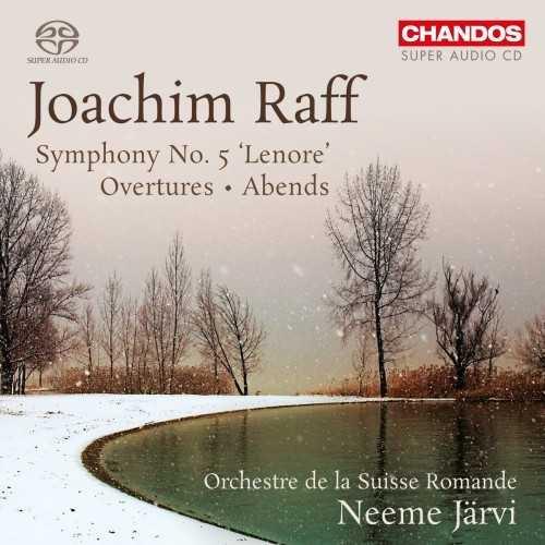 "Järvi: Raff - Symphony no.5 ""Lenore"", Overtures, Abends (24/96 FLAC)"