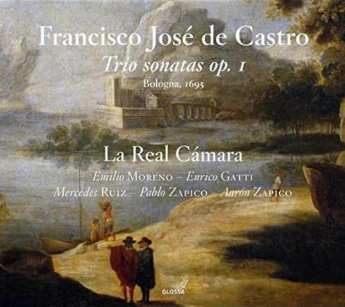 La Real Camara: De Castro - Trio Sonatas op.1 (24/96 FLAC)