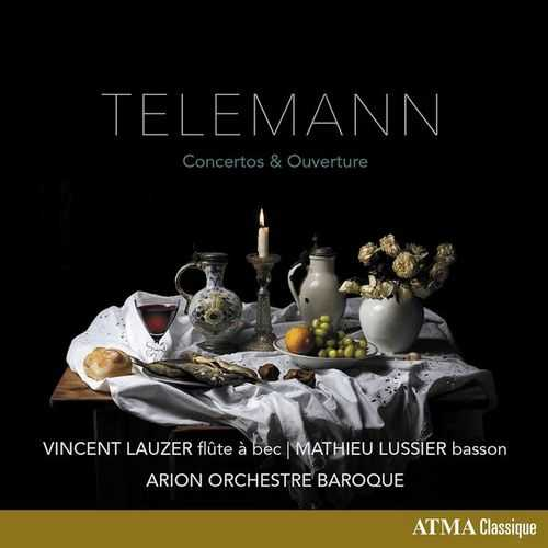 Lauzer, Lussier: Telemann - Concertos & Ouverture (24/96 FLAC)