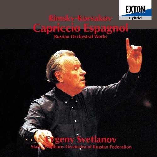 Svetlanov: Rimsky-Korsakov - Capriccio Espagnol, Russian Orchestra Works (SACD ISO)