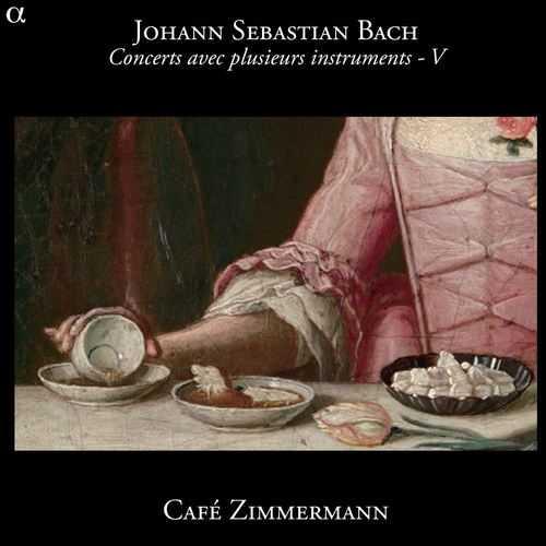 Cafe Zimmermann: Bach - Concerts avec plusieurs instruments vol.5 (24/88 FLAC)