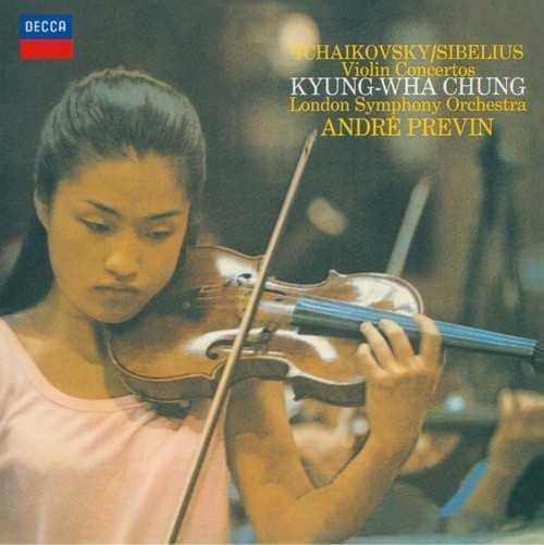 Chung, Previn: Tchaikovsky, Sibelius Violin Concertos (SACD ISO)