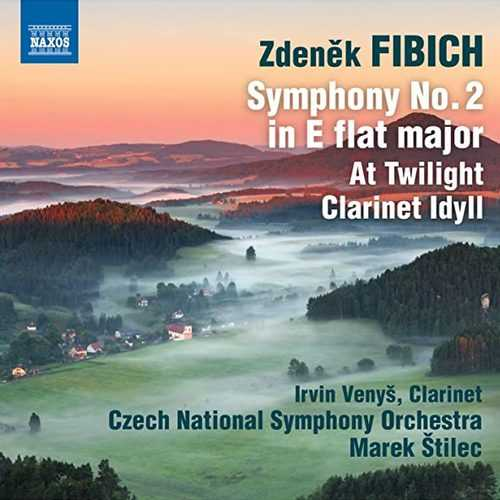 Stilec: Fibich - Symphony no.2, At Twilight, Clarinet Idyll (24/96 FLAC)