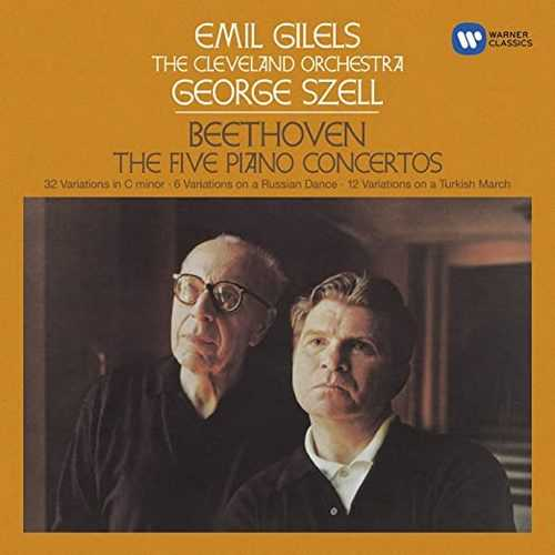 Gilels, Szell: Beethoven - 5 Piano Concertos (SACD ISO)