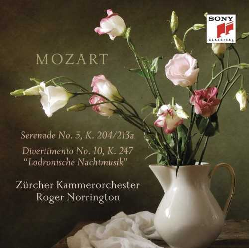 Norrington: Mozart - Serenade no.5, Divertimento no.10 (24/88 FLAC)