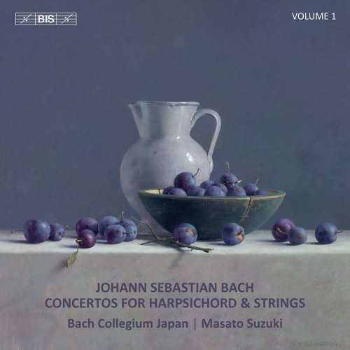 Suzuki: Bach - Concertos for Harpsichord & Strings vol.1 (24/96 FLAC)