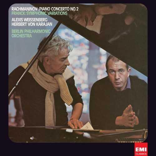 Karajan: Rachmaninov - Piano Concerto no.2, Franck - Symphonic Variations (24/96 FLAC)