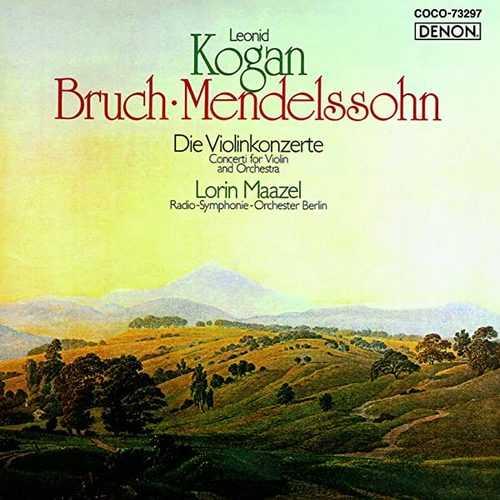 Kogan, Maazel: Mendelssohn, Bruch - Violin Concertos (SACD)