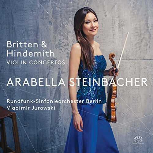 Jurowski, Steinbacher: Britten, Hindemith - Violin Concertos (SACD DSF)