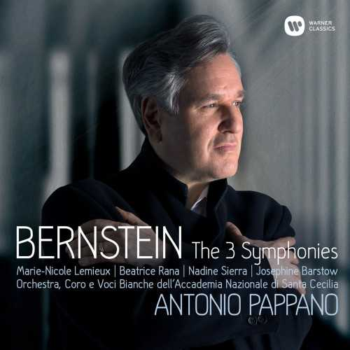 Pappano: Bernstein - The 3 Symphonies (24/96 FLAC)