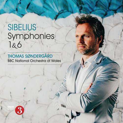 Sondergard: Sibelius - Symphonies 1 & 6 (24/96 FLAC)