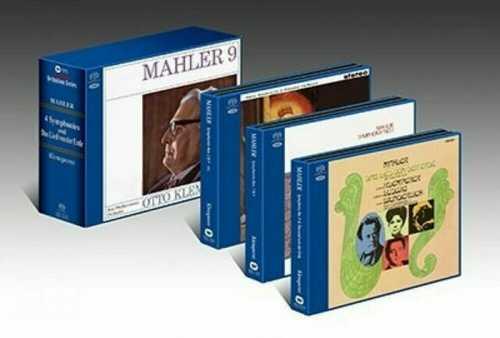 Klemperer: Mahler - Symphony no.2,4,7,9, Lieder (SACD)